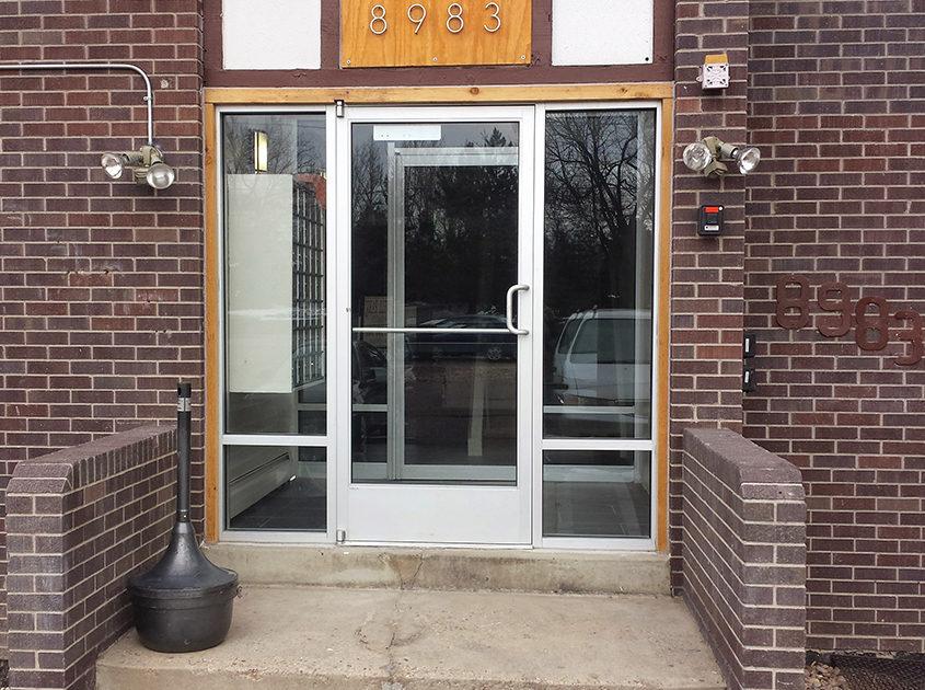 Aluminum Storefront Amp Manual Doors Door Specialties