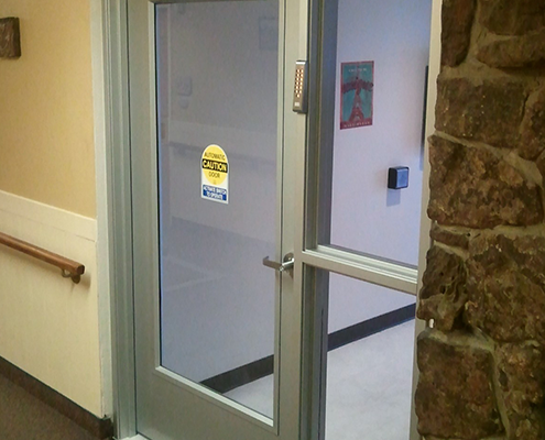 Automatic Low Energy Swing Door Application With New Frame