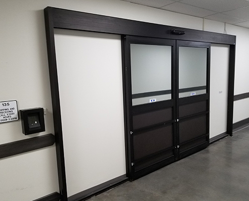 Automatic Sliding Door Surface Applied Pocket Package